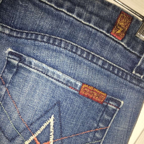 """7 For All Mankind Denim - 7 for all mankind """"A Pocket"""" jeans"""